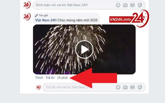 Tải video trong bình luận Facebook trên PC