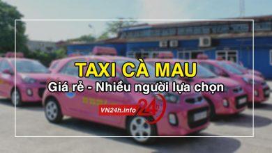 Taxi Cà Mau