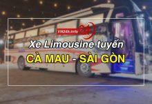 Xe Limousine Cà Mau - Sài Gòn