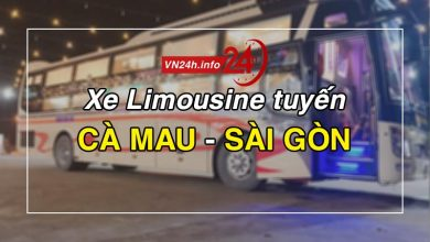 Photo of Xe Limousine Cà Mau – Sài Gòn chất lượng tốt nhất