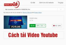 Cách tải Video Youtube