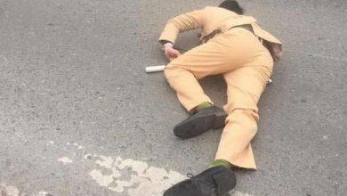 """Photo of Đôi nam nữ phượt thủ chạy Exciter """"thông chốt"""" tông gục Trung úy CSGT"""