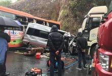 Photo of Hiện trường kinh hoàng vụ tai nạn giữa 2 xe khách và một xe đầu kéo