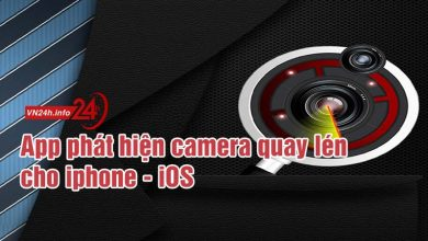 Photo of App phát hiện camera quay lén cho iphone – ios – Android