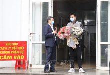 Photo of Bệnh nhân mắc COVID-19 số 18 được xuất viện ở Ninh Bình