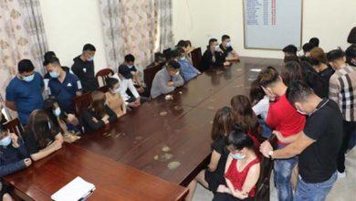 """Photo of Vĩnh Phúc: 50 nam nữ phê ma túy """"bay lắc"""" trong quán karaoke"""