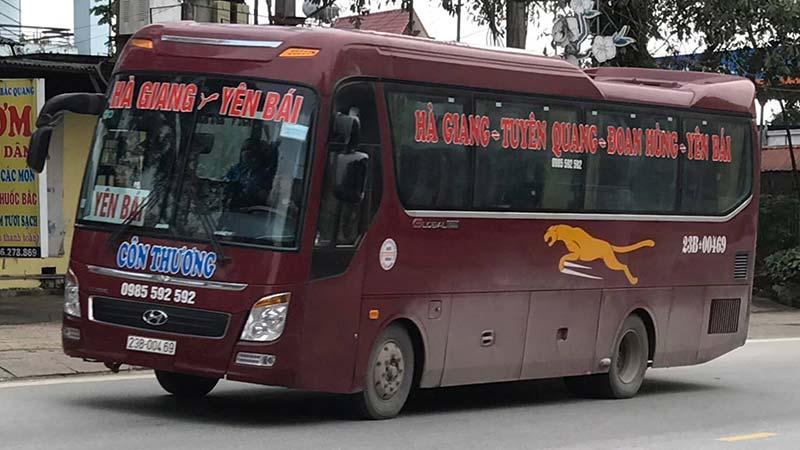Nhà xe Côn Thương (Hà Giang - Đoan Hùng - Yên Bái))