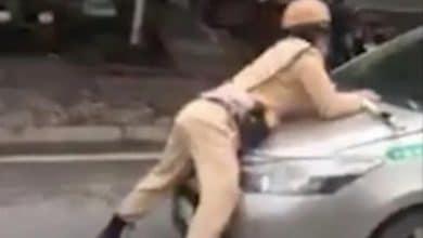 Photo of Tài xế taxi hất Trung uý CSGT lên nắp capô bỏ chạy gần chục km