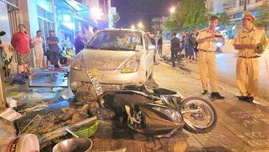 """Photo of Xe ben """"không người lái"""" gây tai nạn liên hoàn giữa phố"""
