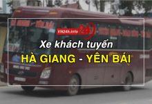 Xe khách tuyến Hà Giang - Yên Bái