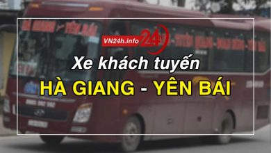 Photo of Xe khách tuyến Hà Giang – Yên Bái