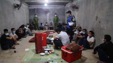 Photo of Vĩnh Phúc: Bắt 27 đối tượng đánh bạc dưới hầm bí mật