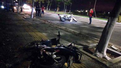 Photo of 2 chiến sĩ cảnh sát hy sinh khi truy đuổi đối tượng đua xe và cướp giật
