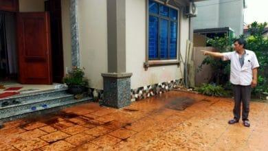 """Photo of Vĩnh Phúc: Liên tiếp bị """"khủng bố"""" bằng chất bẩn: Người dân kêu cứu"""