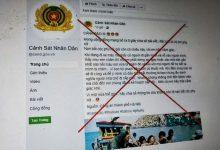 Photo of Cảnh báo các trang Facebook giả mạo lực lượng công an