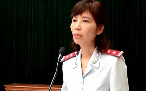Bà Nguyễn Thị Kim Anh. Ảnh: Tuổi trẻ