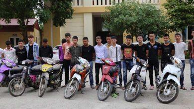 Photo of Công an Vĩnh Phúc xử lý 26 thanh thiếu niên điều khiển xe mô tô bốc đầu, nẹt bô, gây mất ANTT