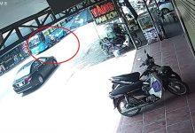 Photo of Clip: Người phụ nữ tự đẩy con nhỏ vào tình thế nguy hiểm vì pha sang đường đầy cẩu thả