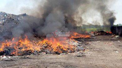 Photo of VIDEO: Ngồn ngộn dây truyền dịch, xilanh cháy rực trong bãi rác ở Vĩnh Phúc