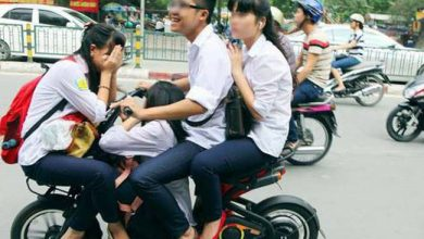 """Photo of Quy định mới khiến học sinh """"hết cửa"""" vô tư chạy xe đạp điện, xe máy"""