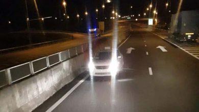Photo of Phạt 17 triệu, tước GPLX 6 tháng tài xế taxi chạy ngược chiều trên cao tốc