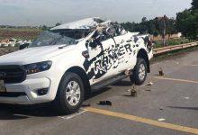 Photo of VIDEO: Xe bán tải biến dạng sau tai nạn khiến 2 người thiệt mạng
