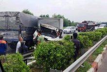 Photo of Xe tải tông nhau khiến 1 tài xế tử nạn trên cao tốc Long Thành