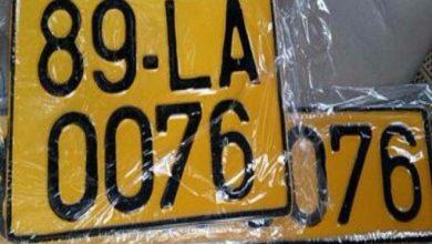 Photo of Từ 1/8, xe kinh doanh vận tải phải đổi biển màu trắng sang màu vàng