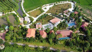 """Photo of Xây dựng """"chui"""" cả khu nghỉ dưỡng trên đất ruộng ở Vĩnh Phúc"""