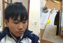 Photo of Trộm cắp tài sản bị phát hiện, nam sinh lớp 10 sát hại chủ nhà bằng 29 nhát dao
